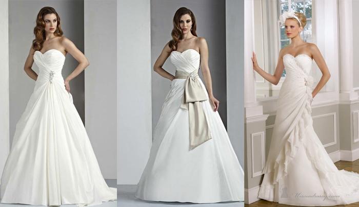 Какой силуэт свадебного платья подходит