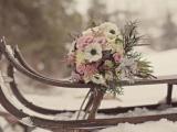 Букет невесты зимой от компании Bouquet
