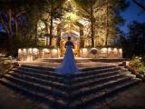 Декор ночной свадебной церемонии