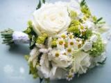 Ромашки в свадебном букете