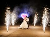 Свадьба и фейерверк