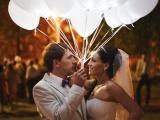 Свадьба со светящимися воздушными шариками